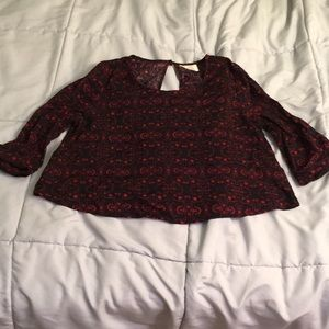 Crop top by pins and needles